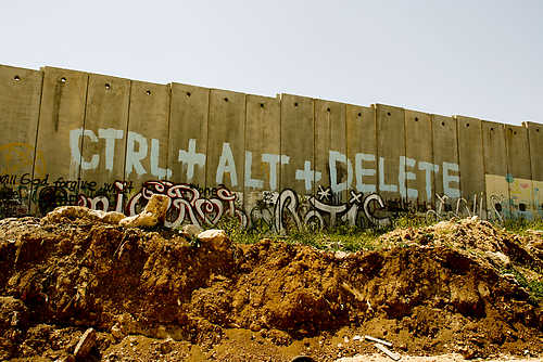 nuncalosabre.Palestine, graffiti as peaceful act of resistance