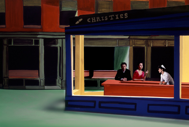nuncalosabre.Homenaje a Edward Hopper - Clark and Pougnaud