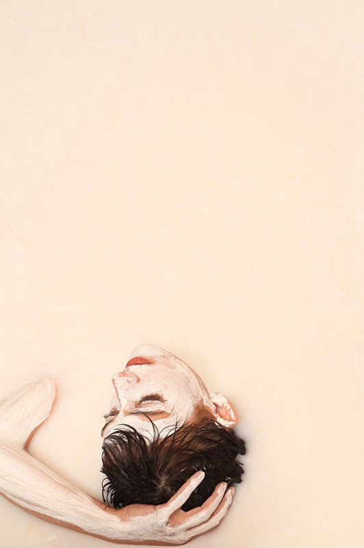 nuncalosabre.Human paintings - Alexa Meade & Sheila Vand