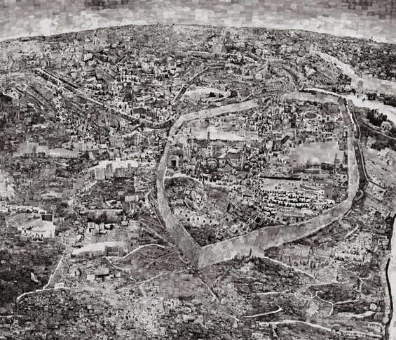 nuncalosabre.Collaged City Maps - Sohei Nishino