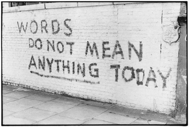 The Writing on the Wall | © Roger Perry