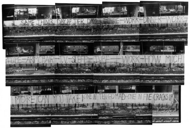 The Writing on the Wall   © Roger Perry