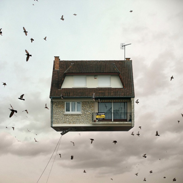 Flying Houses – Laurent Chehere