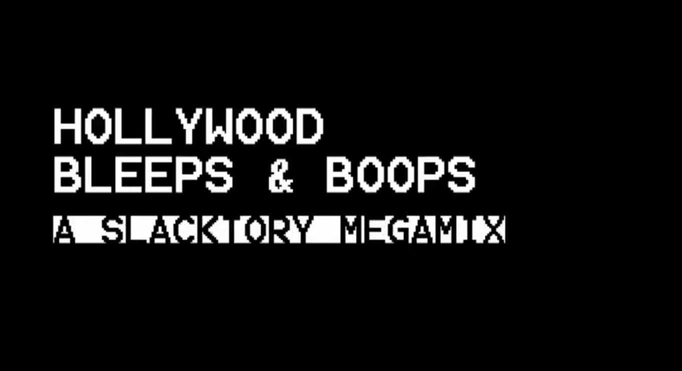 Hollywood Bleeps and Bloops, A Song Made From Computer Sounds in Film & TV